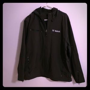 Bobcat all weather jacket with hood size XL